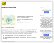 Create My Amateur Radio Map