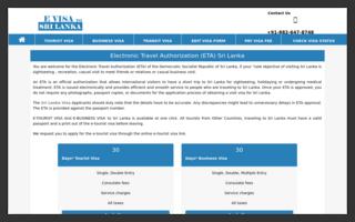 apply tourist visa online