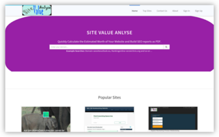 Estimate My Site Worth Online Free | Ranking