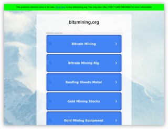 Bits Mining