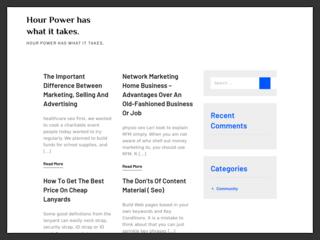 hyip program HourPower