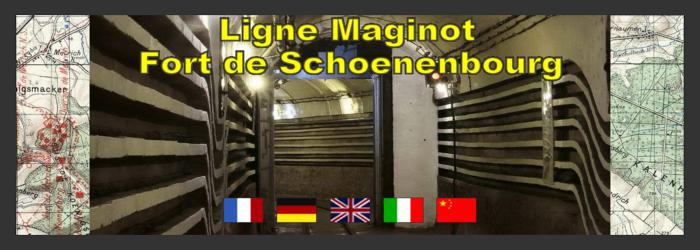 Ligne Maginot en Alsace et Fort de Schoenenbourg