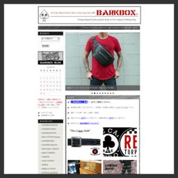 バークボックス BARKBOX PUNKS BIKERS ROCKERS SKINS Real style Clothing Shop