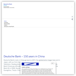 Deutsche Bank – Deutsche Bank - China