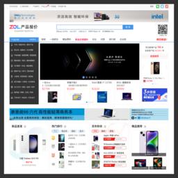 detail.zol.com.cn的网站截图