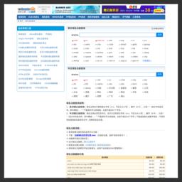 域名注册,域名查询,中文域名注册查询,国际中英文域名注册查询-中国站长之家的网站缩略图