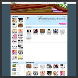 在线弹钢琴小游戏_网站百科
