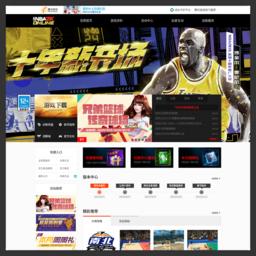 《NBA2K Online》官方网站网站截图