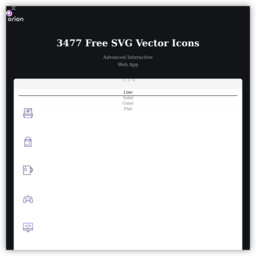 8613 Free SVG & PNG Icons - Orion Icon Library