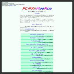 PC-FX MoeMoe