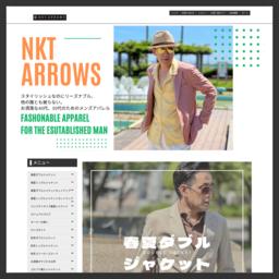 スタイルアップとオンオフ両方で使えるメンズファッションの提供を致します。:NKT ARROWS - 通販 - Yahoo!ショッピング