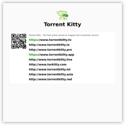 Torrent Kitty : Torrent to Magnet Conversion