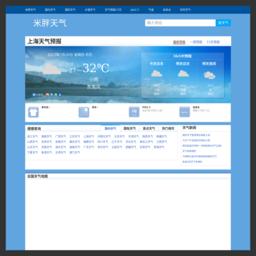 米胖天气_网站百科