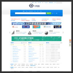 网站测速|网站速度测试|网速测试|电信|联通|网通|全国|监控|CDN|PING|DNS 17CE.COM