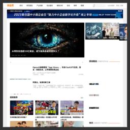 创业邦的网站缩略图