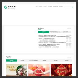 www.e-chinalife.com的网站截图