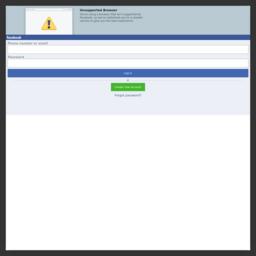 更新浏览器 | Facebook