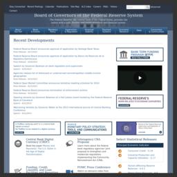 Federal Reserve System(美联储)