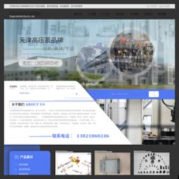 天津高压泵
