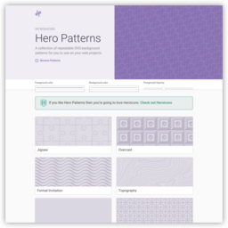 Hero Patterns