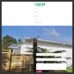 奧克蘭北岸房屋油漆網站截圖
