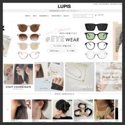 激安アクセサリーの通販ルピス(LUPIS)公式サイト!雑誌掲載アクセサリーも多数通販販売!ネックレス、ピアス、リング、ブレスレット、ヘアアクセサリー、サングラス、激安アクセショップ通販!