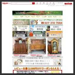 """""""手づくり""""にこだわった品々の紹介、販売。MASUKI(マスキ)。 食器やインテリアオーナメントはじめ、ガーデニング資材など・・・ 幅広いオリジナル商品満載♪"""