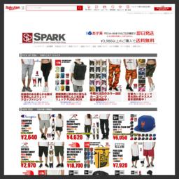 SPARK(スパーク)はアメカジ、HIPHOP、ストリート系ファッション通販店!バイヤーがLAを中心に最新アイテムを買付け。adidas(アディダス)、NEW ERA(ニューエラ)、THE NORTH FACE(ノースフェイス)、TRUE RELIGION(トゥルーレリジョン)他。