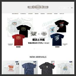 横浜のアメカジショップ『HEATH.(ヒース)』の楽天通販サイトです。オリジナルブランド「ブルーポート」「ナッカード」を中心に、国内外からセレクトした人気のアイテムを取り扱っております。