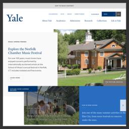 耶鲁大学 Yale U