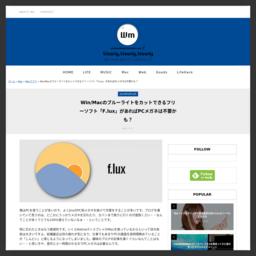 ブルーライトカットソフト F Lux がver30 0にアップデートされ より多機能に 渡邉 充敏 Com
