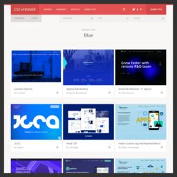 CssWinner网页色彩分类