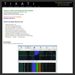 www.tixati.com网站截图