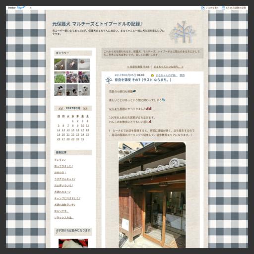 奈良を満喫 その7 (ラスト ならまち。)