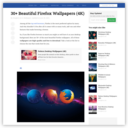 70+ Nice and Beautiful Firefox Wallpapers
