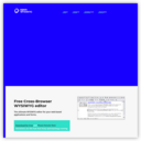 Open Source Cross-Browser WYSIWYG Editor