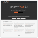 phpMyFAQ homepage - open source FAQ system for PHP and MySQL, PostgreSQL and other databases | welcome