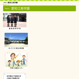 愛知江南短期大学