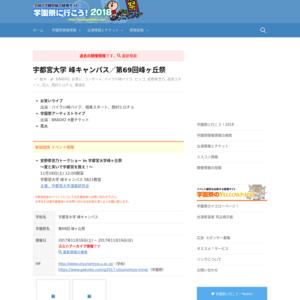宇都宮大学 峰キャンパス/第69回峰ヶ丘祭